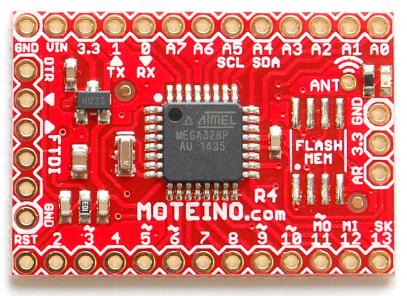 Moteino mit Prozessor ATmega328 und LoRa Sendemodul Fr 25.-